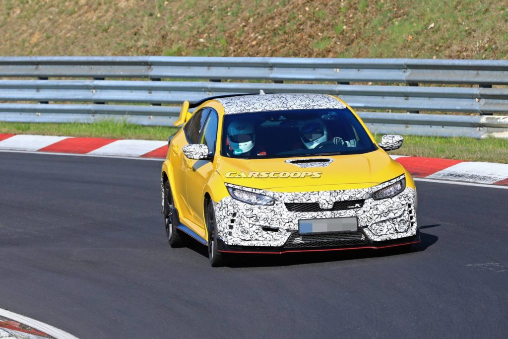 Nowa Honda Civic Type R – zaczyna się walka między Japonią a Niemcami