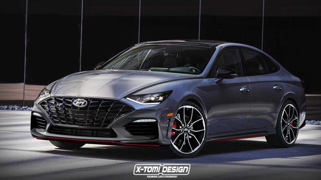 Hyundai Sonata N 2020 – Najmocniejsza wersja miejskiego zawodnika