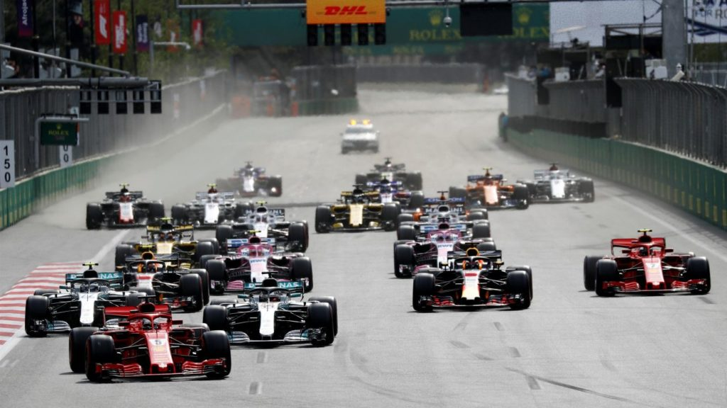Formula 1 – Grand Prix Azerbejdżanu – Relacja na Żywo