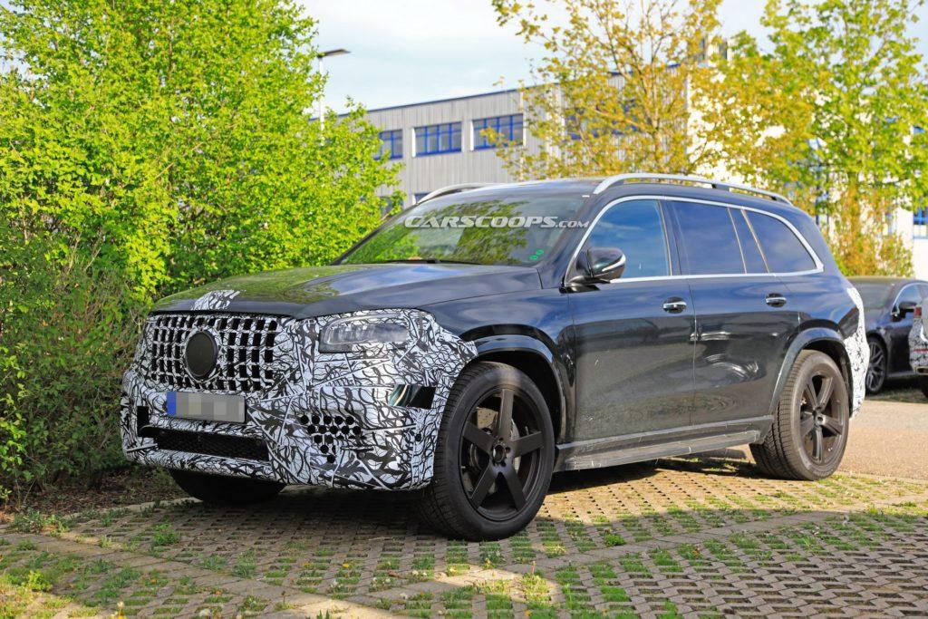 Mercedes GLS 63 AMG coraz bliżej premiery