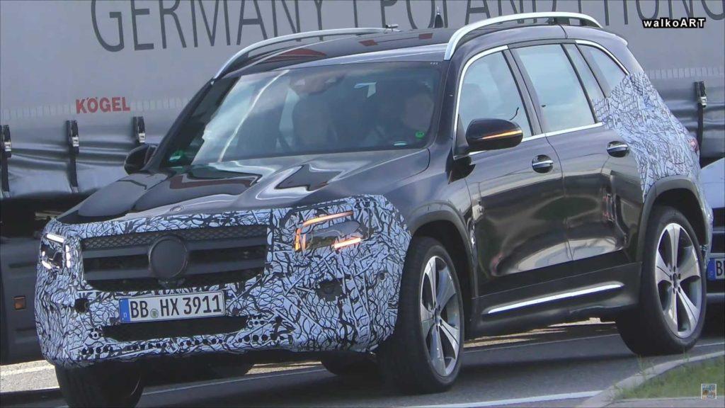 Mercedes GLB prawie gotowy na premierę