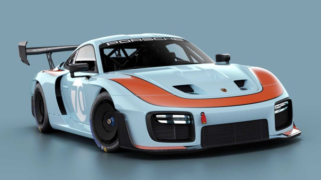 Sztuka nowoczesna w klasycznym wydaniu Porsche