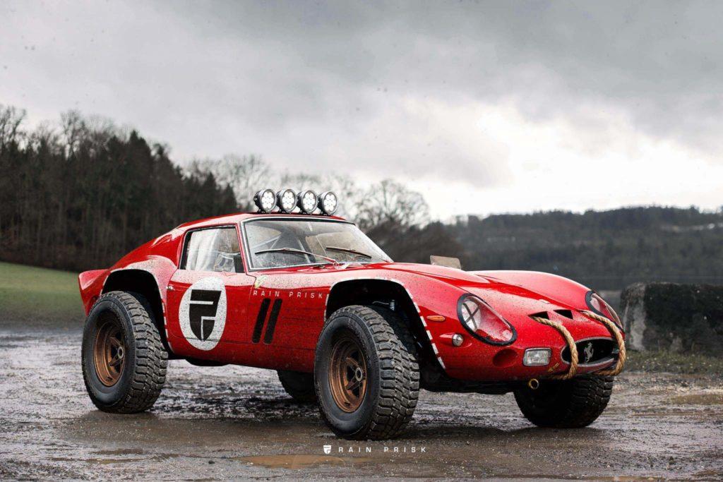 Ferrari 250 GTO w wersji Rally podbija świat