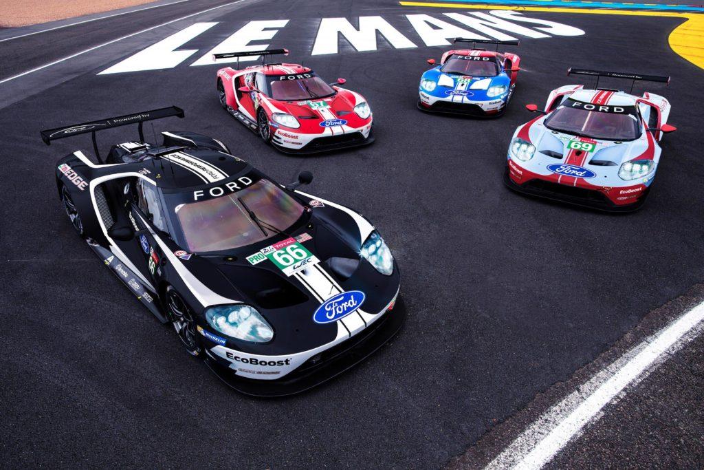 Mistrzowskie pożegnanie Forda z Le Mans