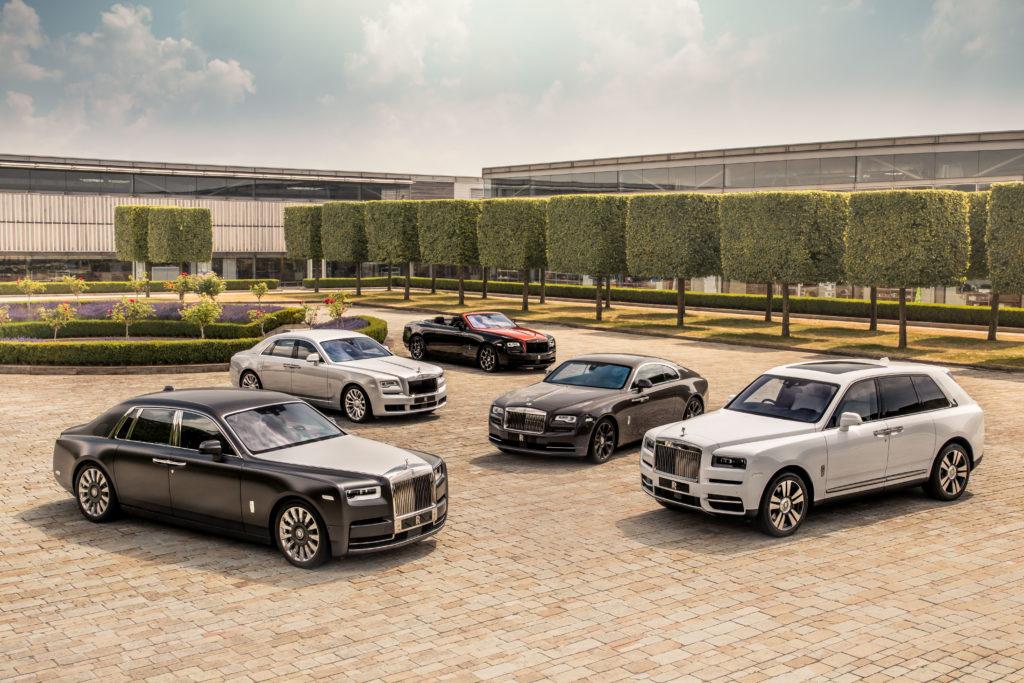 Nowy Rolls-Royce z okazji 115 lat istnienia marki