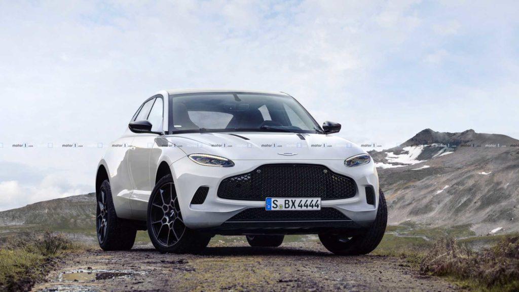 Aston Martin DBX na renderach, czyli nowy brytyjski SUV w sportowym wydaniu