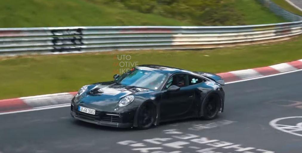 Porsche 992 GT3 Touring zauważone na Nurburgringu