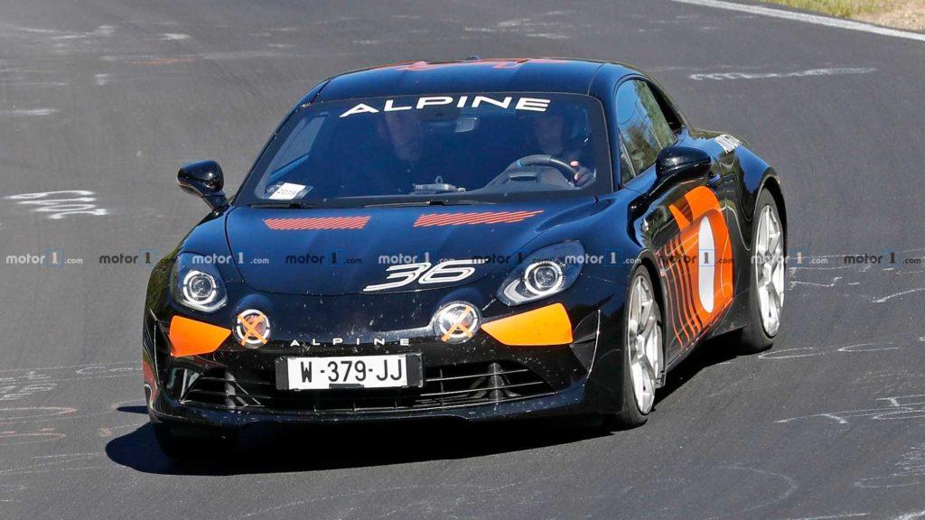 Nadchodzi mocniejsze Alpine A110 z silnikiem Megane RS Trophy