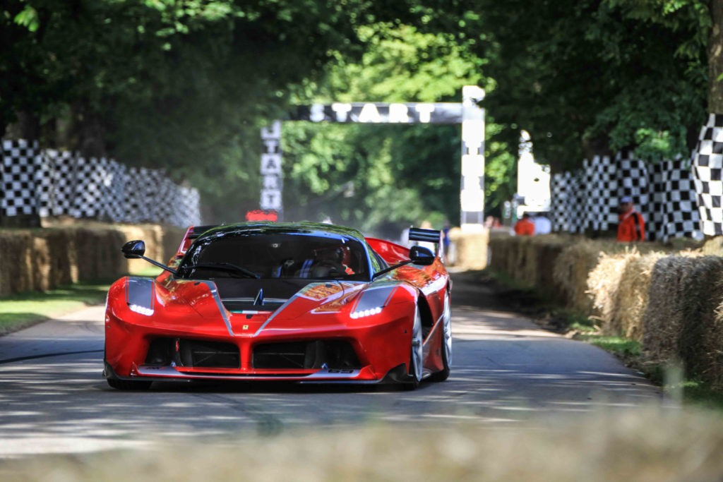 Ferrari przywozi do Goodwood trzy wyjątkowe samochody