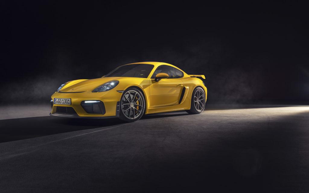 Porsche 718 Spyder i 718 Cayman GT4 dołączają do gamy