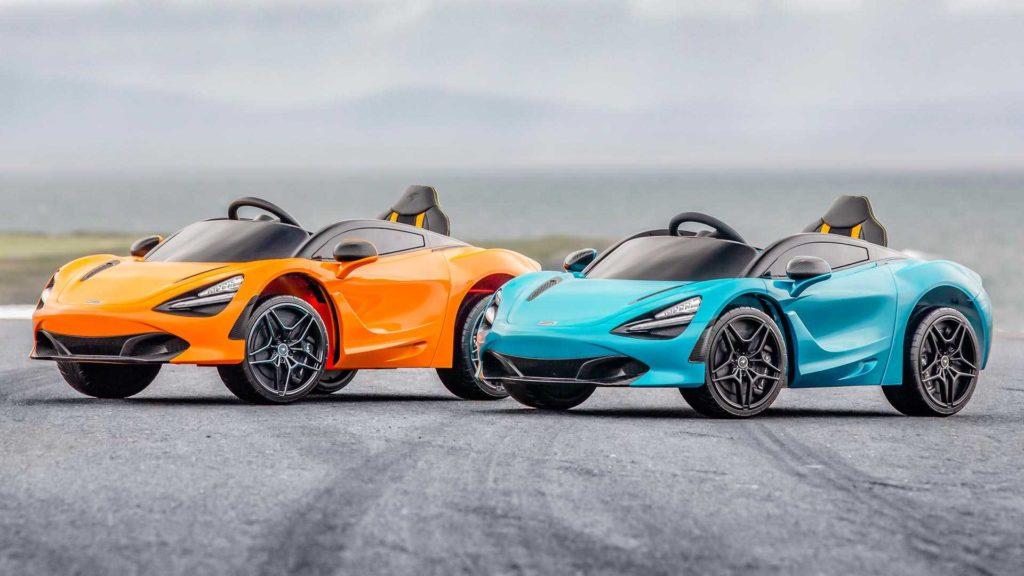 McLaren 720S za 1 500 złotych sprawi frajdę Tobie i twojemu dziecku
