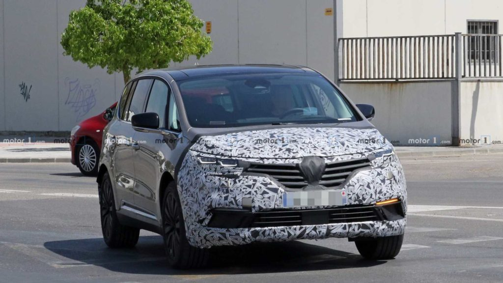 Renault planuje facelifting Espace'a