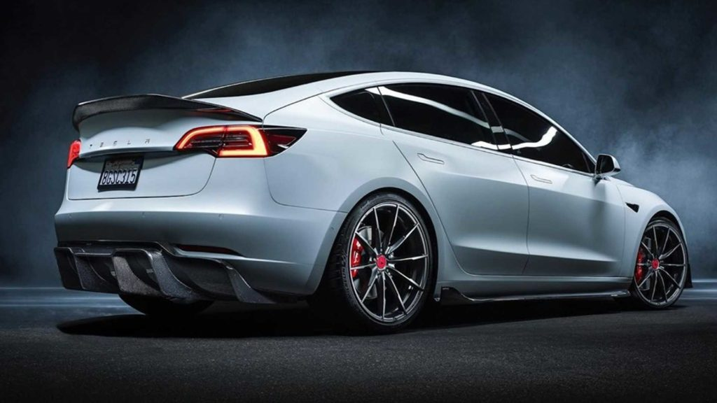 Tesla Model 3 po tuningu u Vorsteinera