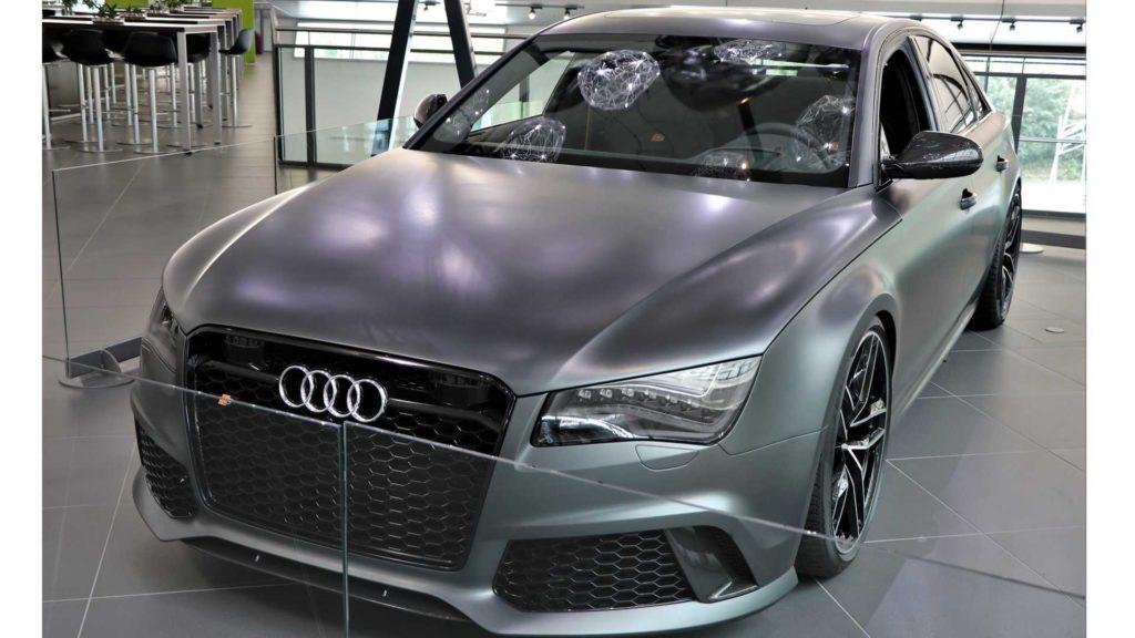 Premiera niedoszłego Audi RS8 (prototyp)
