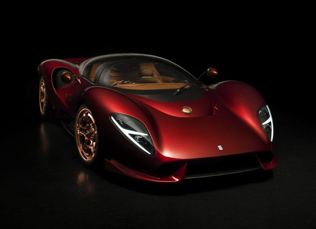 Historia De Tomaso i nowy P72 zaprezentowany w Goodwood