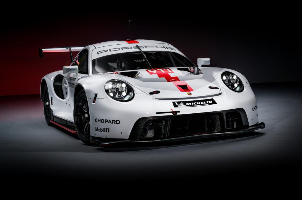 Nowe Porsche 911 RSR gotowe do walki o tytuł mistrzostwa świata