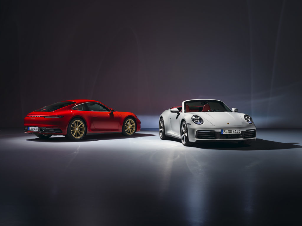 Podstawowa wersja nowego Porsche 911 już jest!