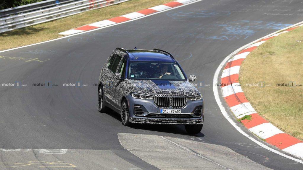 Alpina XD7 zauważona na Nurburgringu