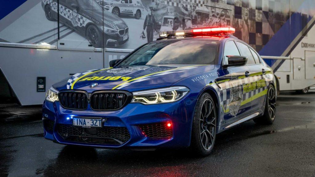 BMW M5 Competition najszybszym radiowozem w Australii