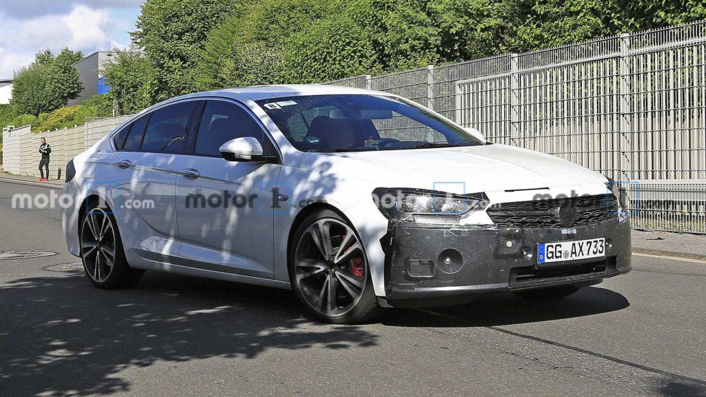 Opel Insignia już wkrótce przejdzie facelifting