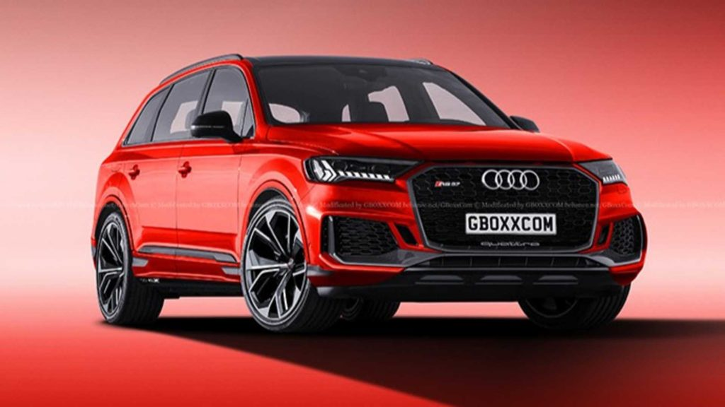 Audi RS Q7 nadchodzi – pierwsze rendery