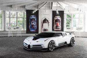 Bugatti Centodieci, czyli reaktywacja EB 110 Super Sport