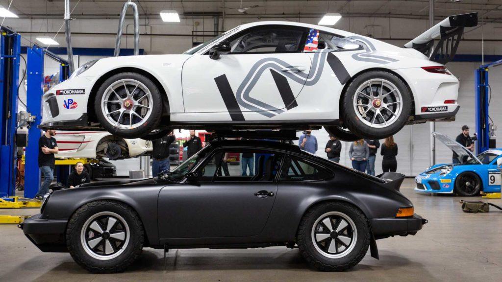 """Porsche 911 Carrera """"Willy Safari"""", czyli nie typowe Porsche na pustynię"""
