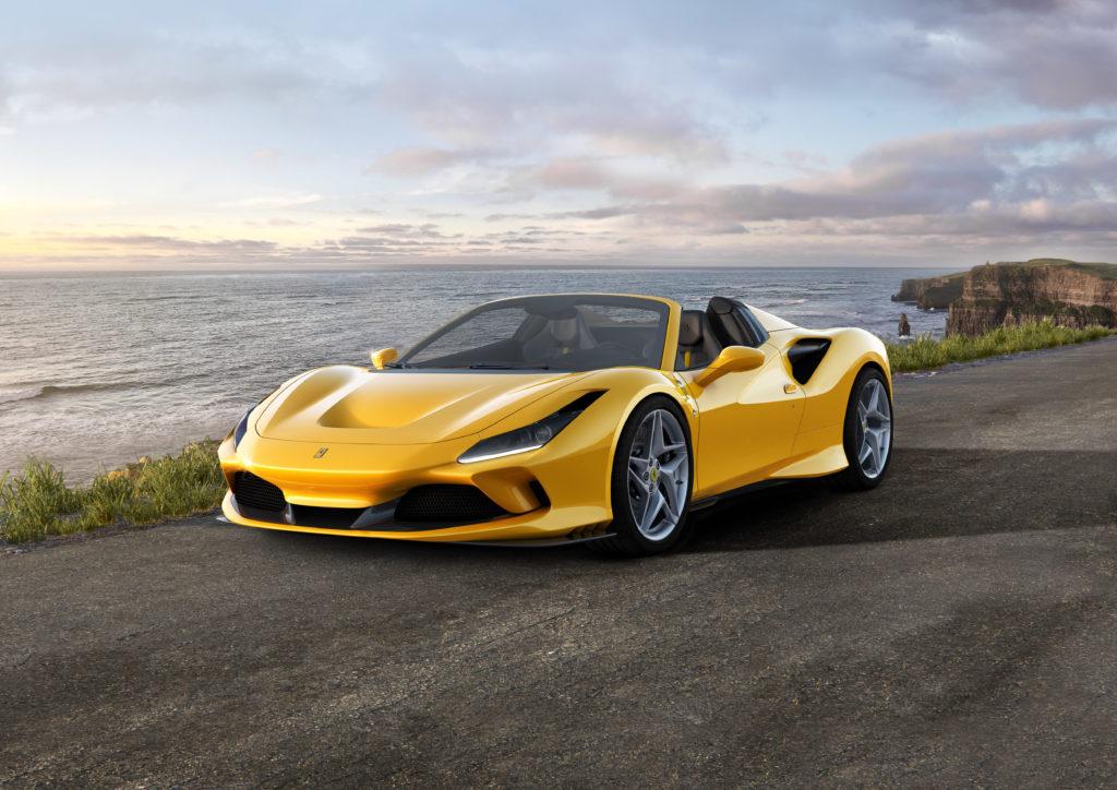 Ferrari F8 Spider – lżejsze, szybsze, doskonalsze