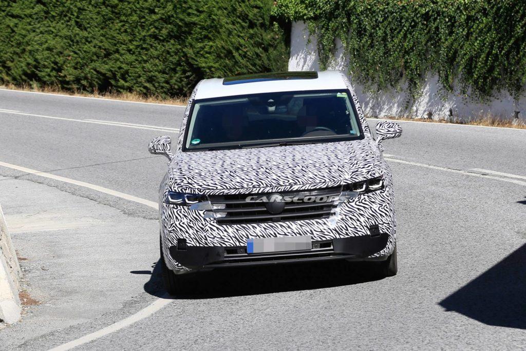 Volkswagen Viloran zauważony podczas testów w Hiszpanii