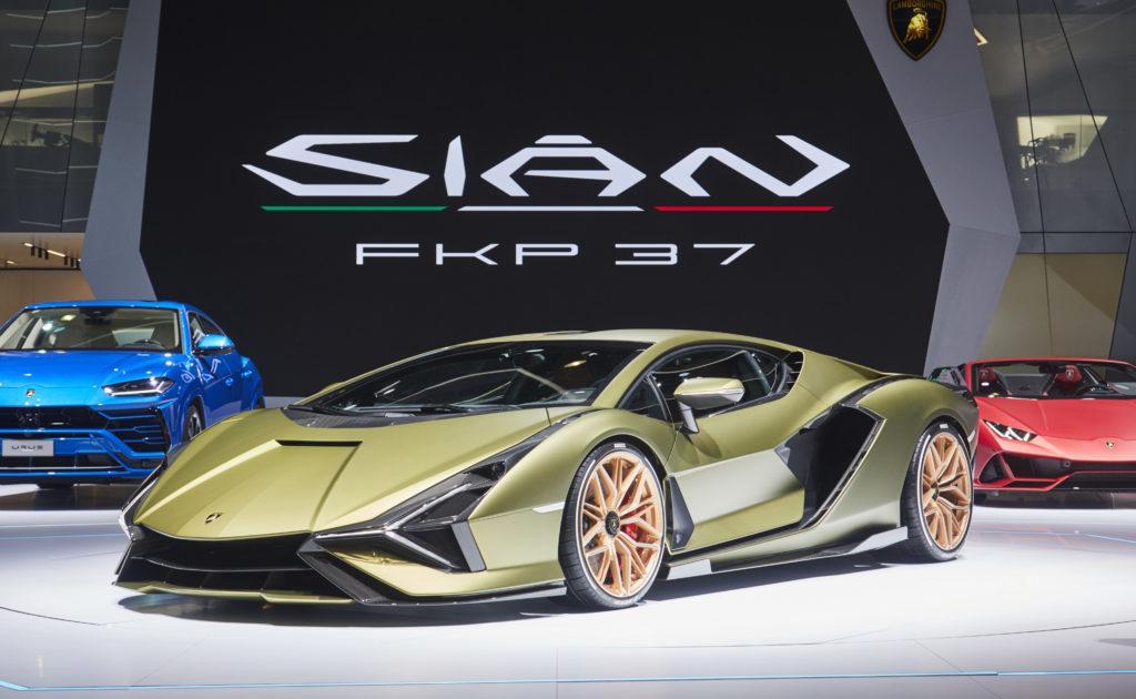 Nowe Lamborghini Sian hołdem dla Ferdinanda Piëcha