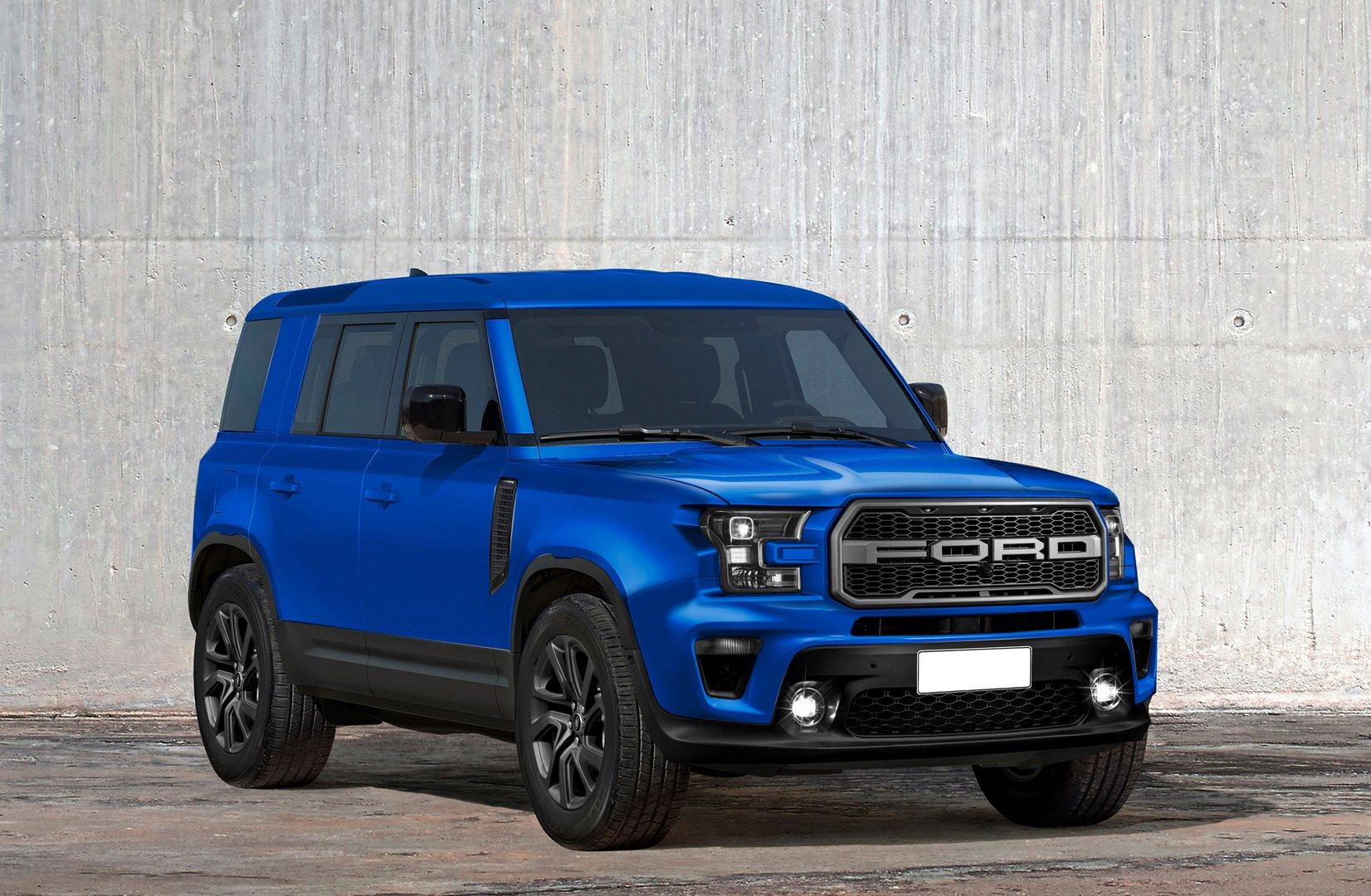 Mały Ford Bronco - nachodzi najmniejsza terenówka Forda