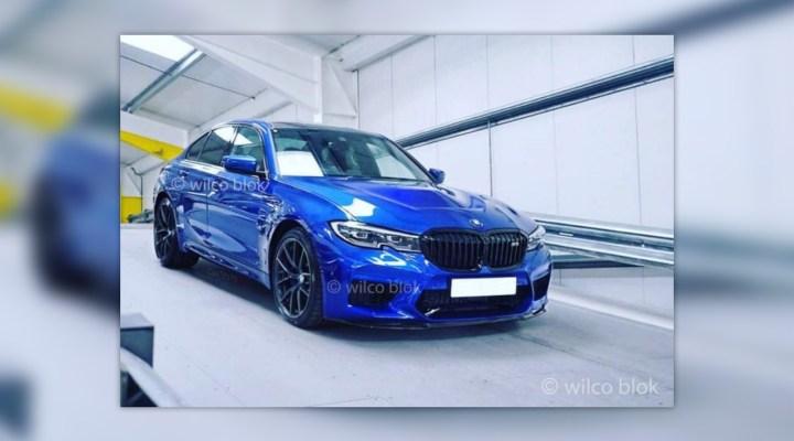 Zdjęcia nowego BMW M3 z hali produkcyjnej
