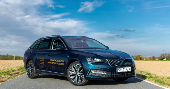 #TEST – Skoda SUPERB COMBI L&K 190 KM – To auto jest super(b)