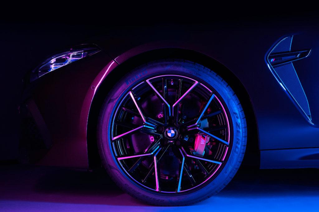 Pirelli stworzyło we współpracy z BMW specjalne opony do M8