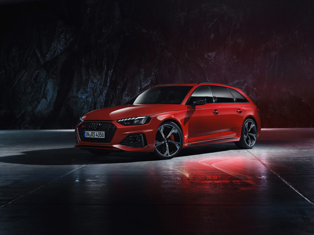 Audi pokazało odświeżony model RS4