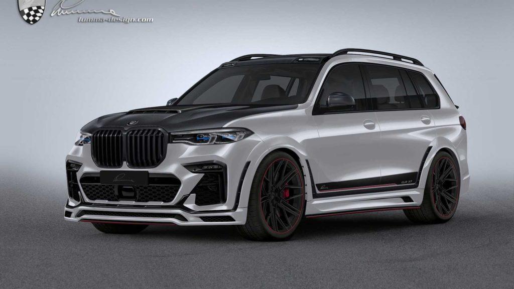 BMW X7 po modyfikacjach od Lumma Design