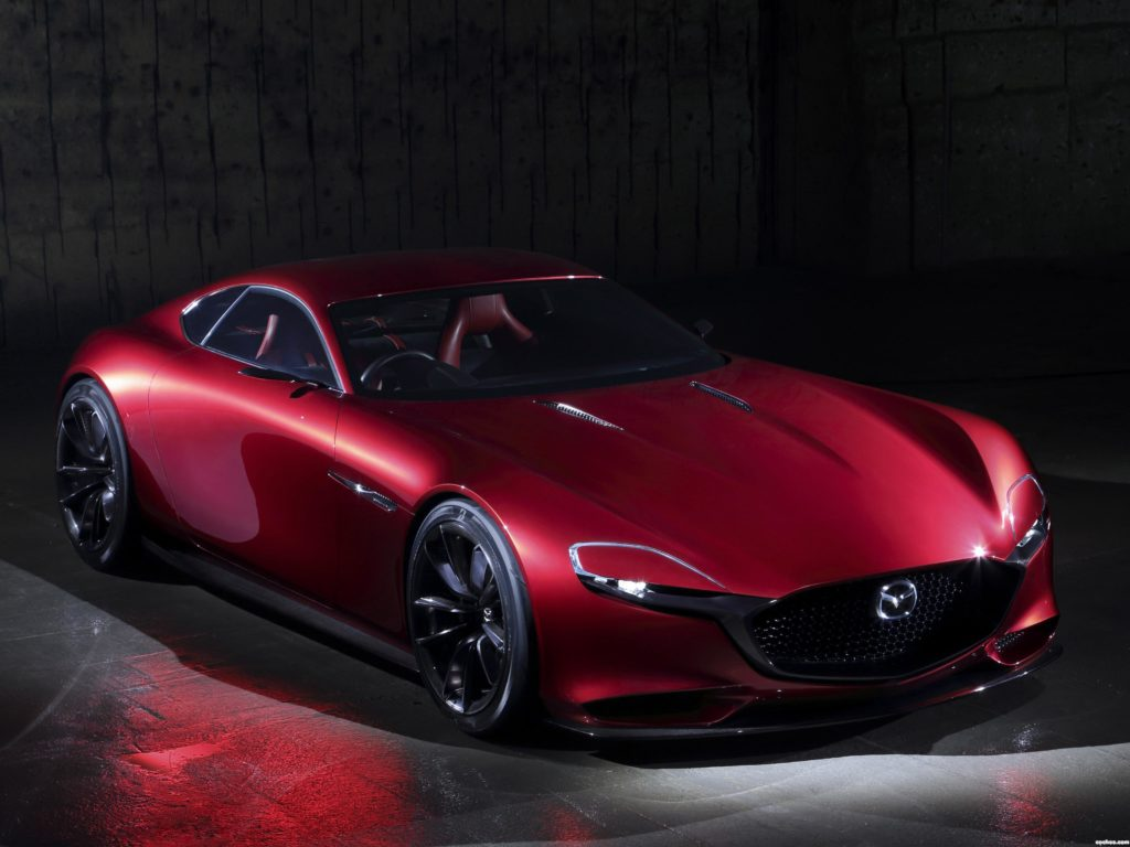 Nowa Mazda z silnikiem Wankla wciąż aktualna, lecz są problemy