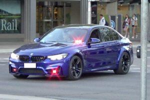 Nieoznakowane BMW M3 w szeregach policji