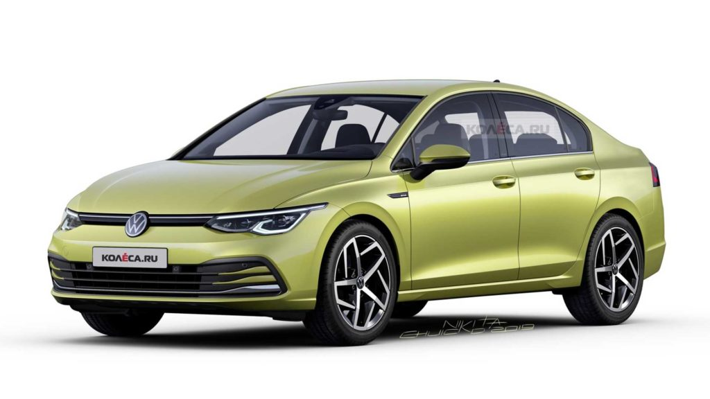 Volkswagen Jetta 2020 – sedan na bazie Golfa MK8