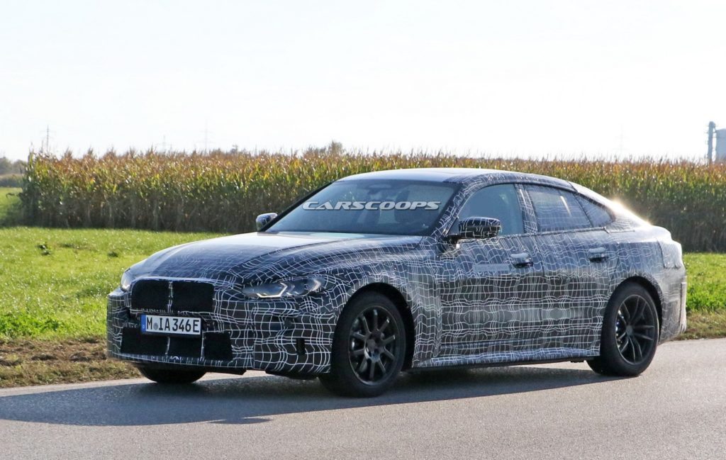 BMW i4 2021 – 600 km zasięgu w elektryku mocniejszym od M4