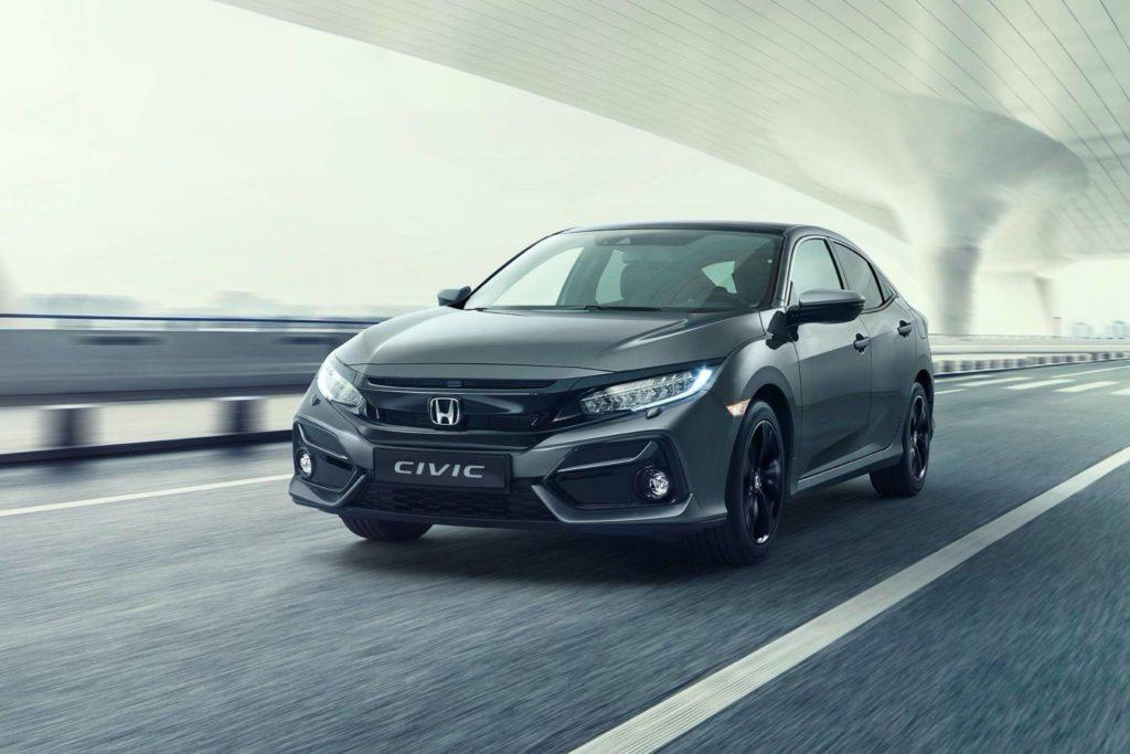 Honda Civic 2020 – drobne zmiany stylistyczne wraz z nowym rokiem