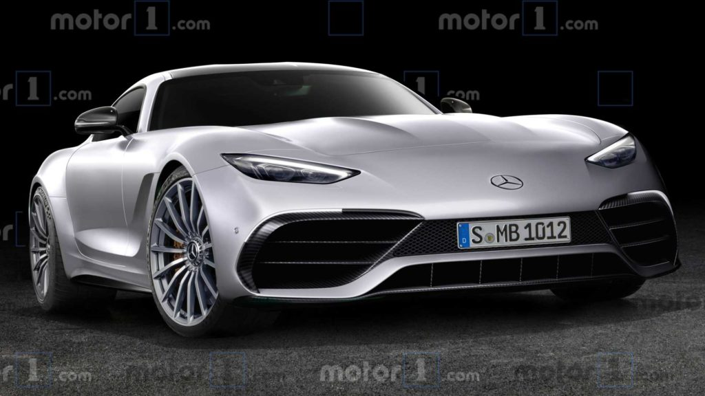 Mercedes AMG GT Coupe – następca z frontem Project One?