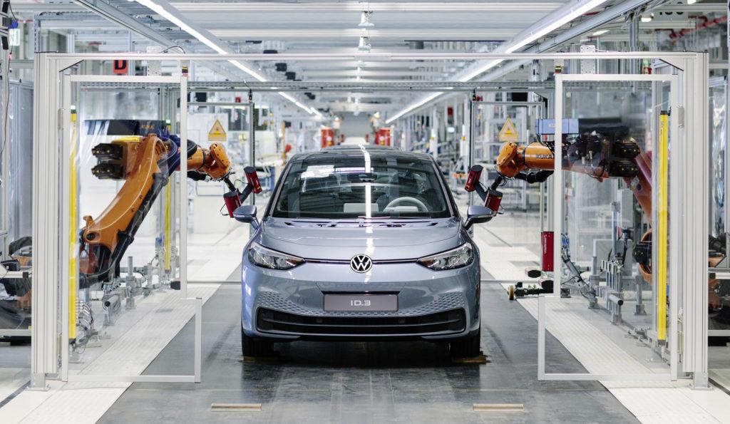 Volkswagen ID.3 – produkcja od 30 do 1500 samochodów dziennie