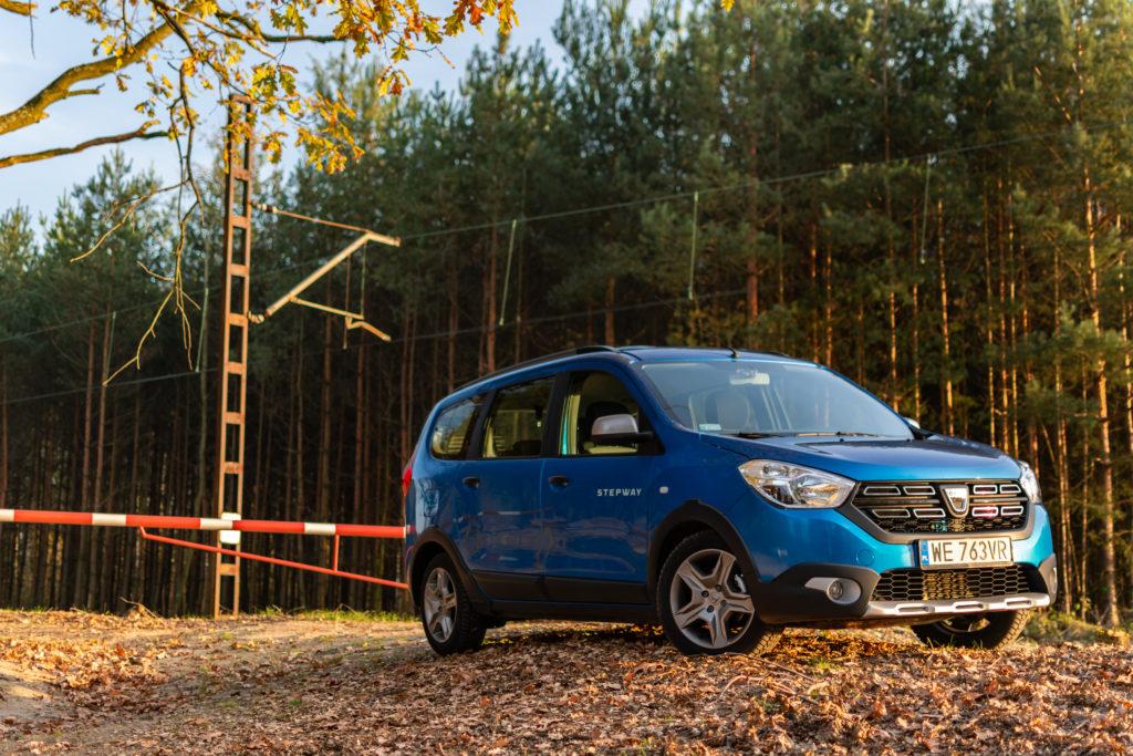 #TEST – Dacia Lodgy Stepway – 7-osobowy VAN dla rodziny