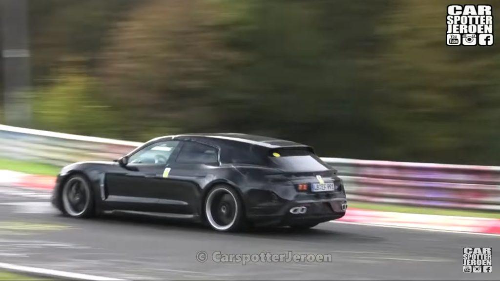 Taycan Sport Turismo od Porsche przyłapany na Nurburgringu