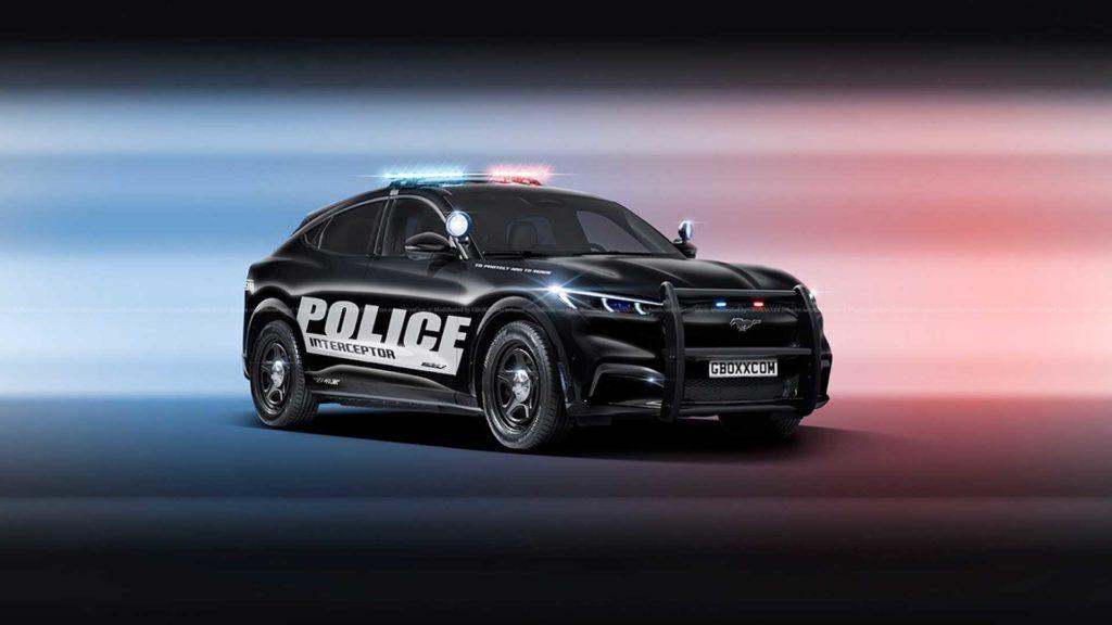 Ford Mustang Mach-E na służbie w amerykańskiej policji