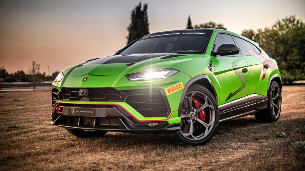 Lamborghini Urus ST-X – pierwszy SUV do Rallycross