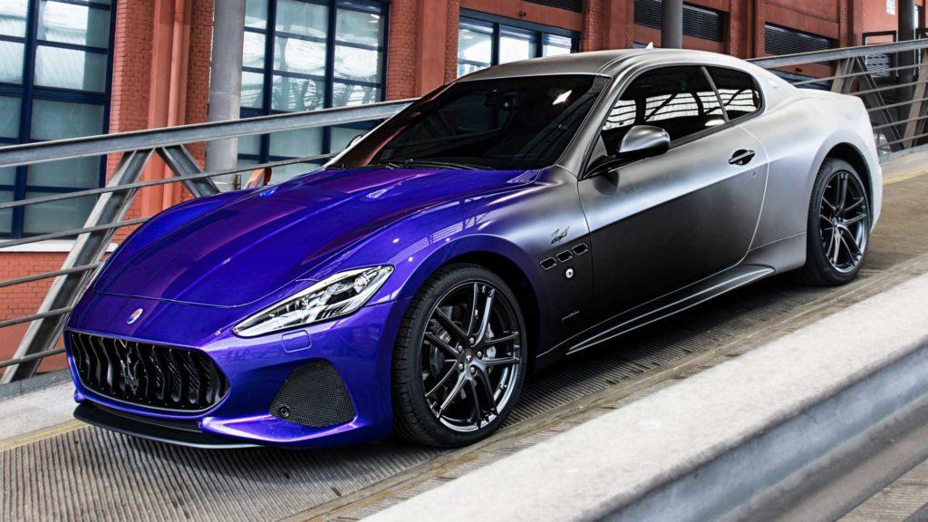 Końcowa wersja Maserati GranTurismo na pożegnanie modelu