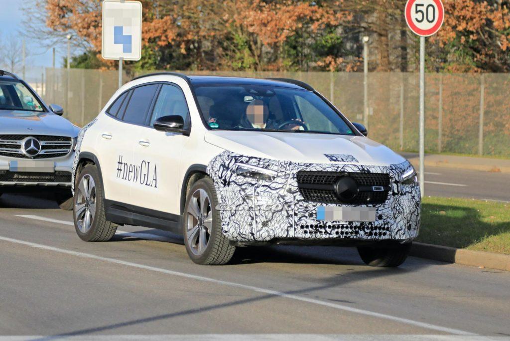 Mercedes GLA 2020 – ostatnie zdjęcia przed oficjalną premierą