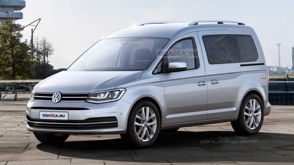 Volkswagen Caddy 2020 – nowa generacja furgonetki już w lutym